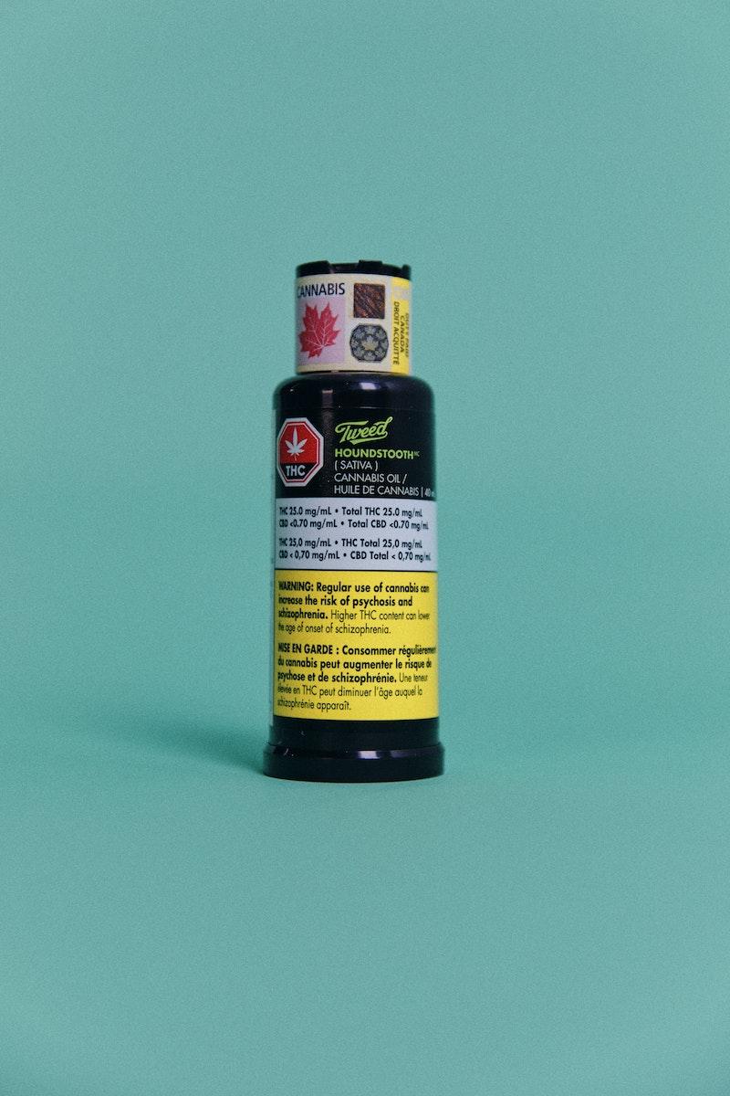 Tweed Houndstooth Oil | Herb