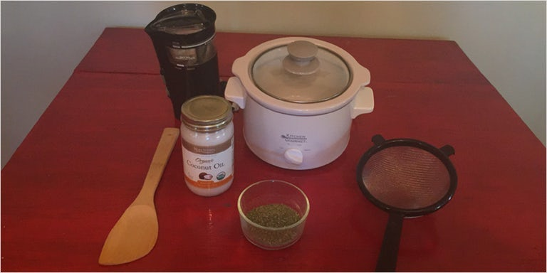 Cannabis Oil In A Slow Cooker