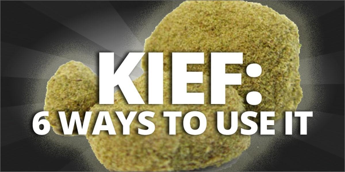 6 ways to use kief