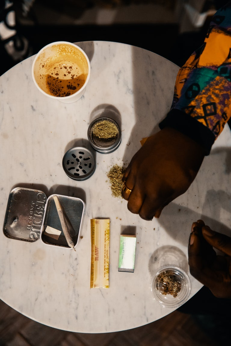 hash joint made with cannabis