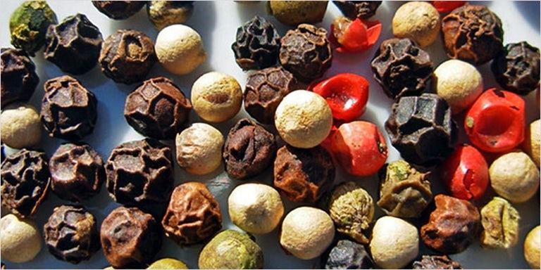 ways to cure an intense high: 3. Pepper